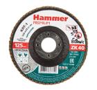 Круг Лепестковый Торцевой (КЛТ) HAMMER Ф125х22 P20