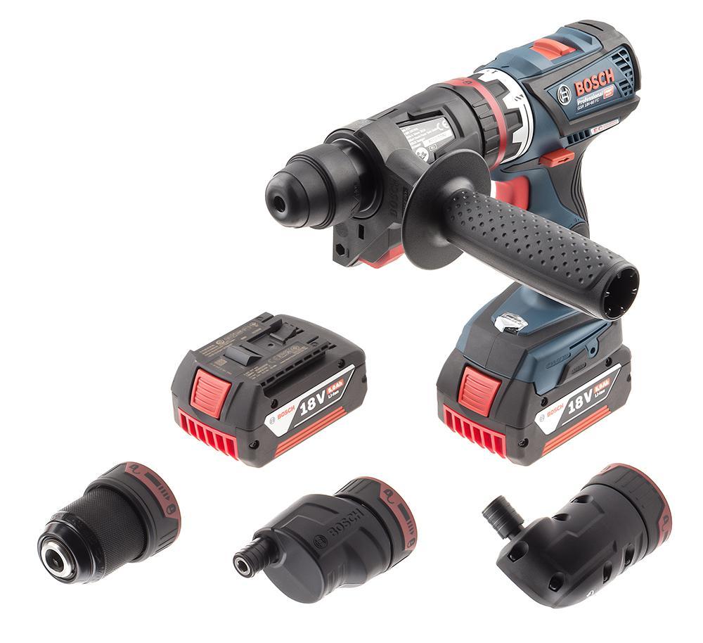 Шуруповерт аккумуляторный Bosch Gsr 18v-60 fc set (0.601.9g7.100)