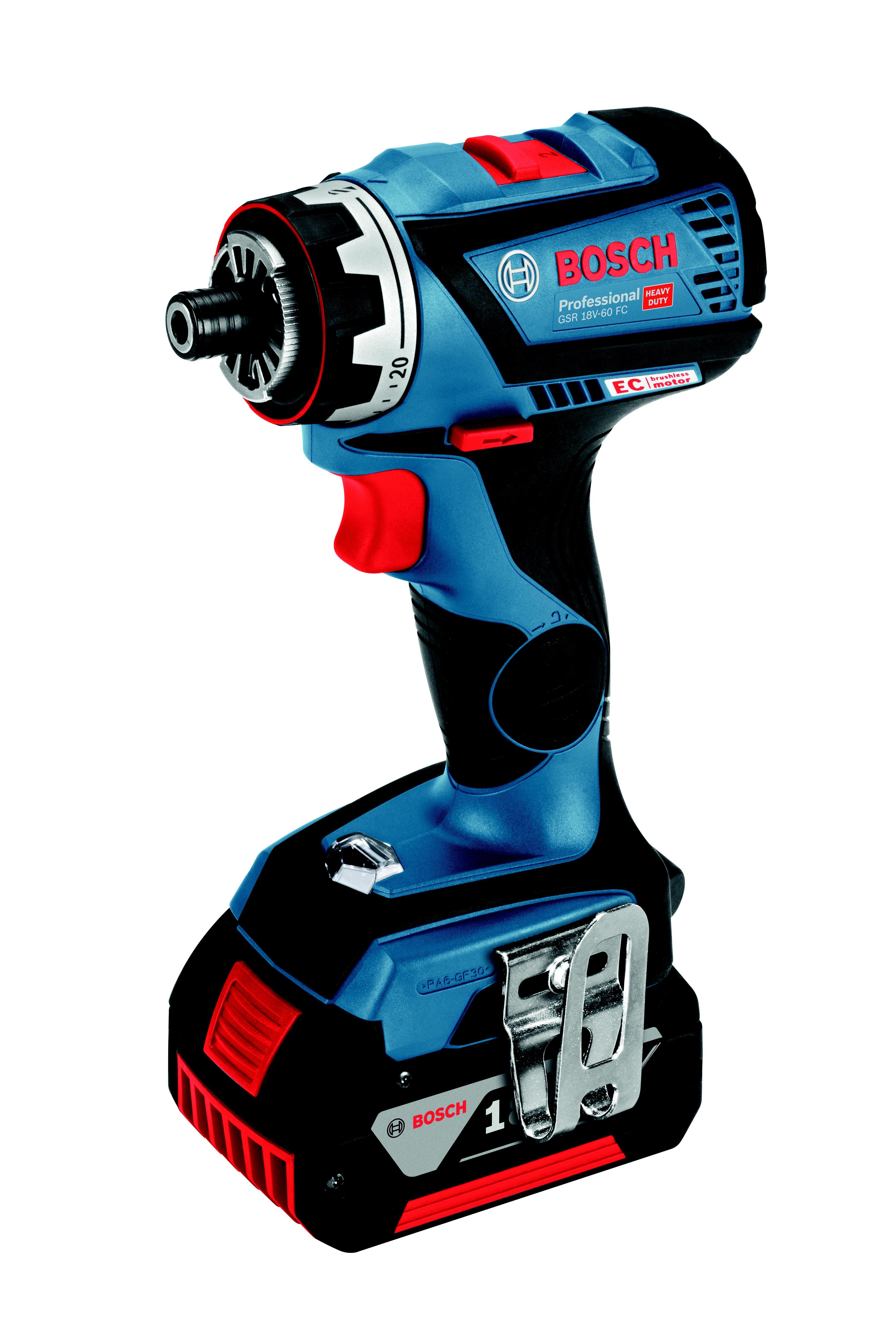 Шуруповерт аккумуляторный Bosch Gsr 18v-60 fc flex (0.601.9g7.101)