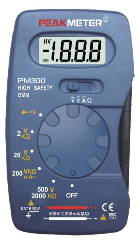 Мультиметр Peakmeter Pm300 (17121)