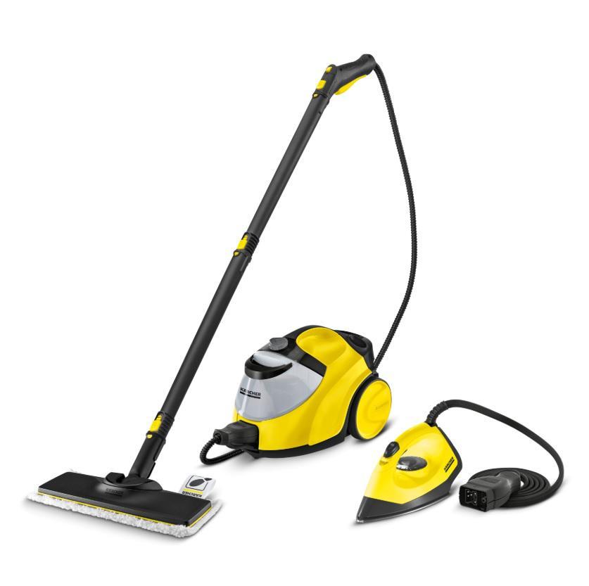 Пароочиститель Karcher Sc 5 easyfix (yellow) iron kit 1.512-533.0