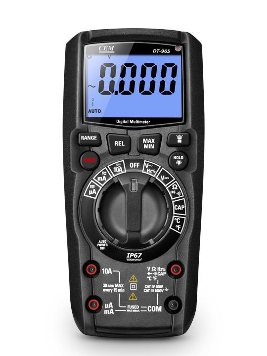 Мультиметр Cem Dt-965bt (482506)