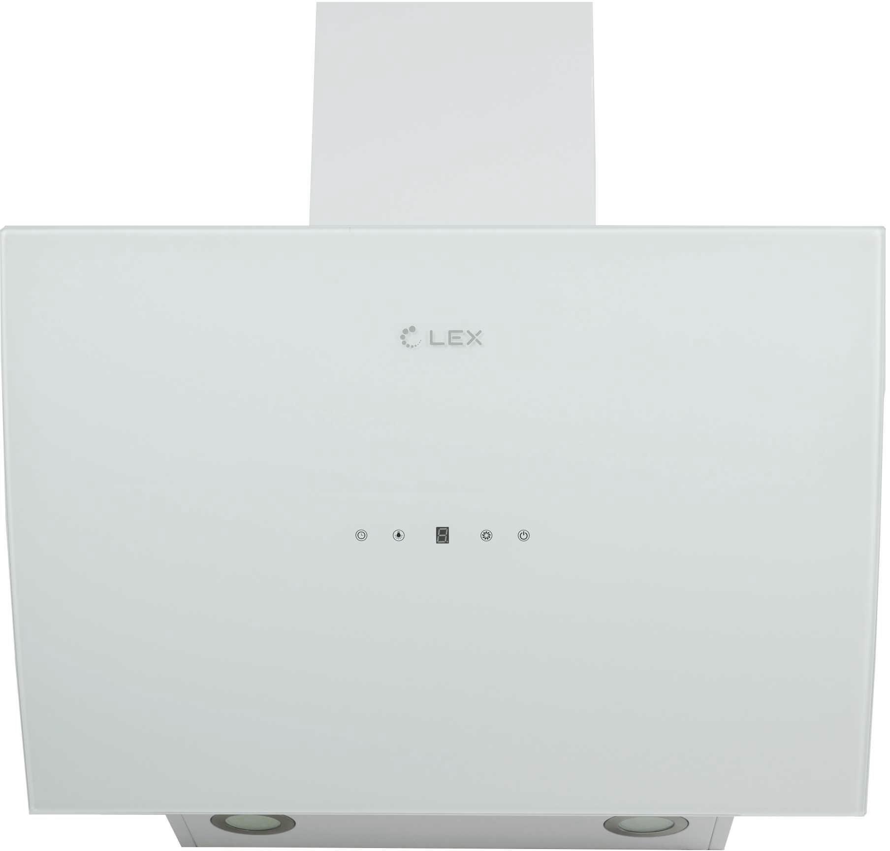 Вытяжка Lex Plaza 900 white lex milano 90 white