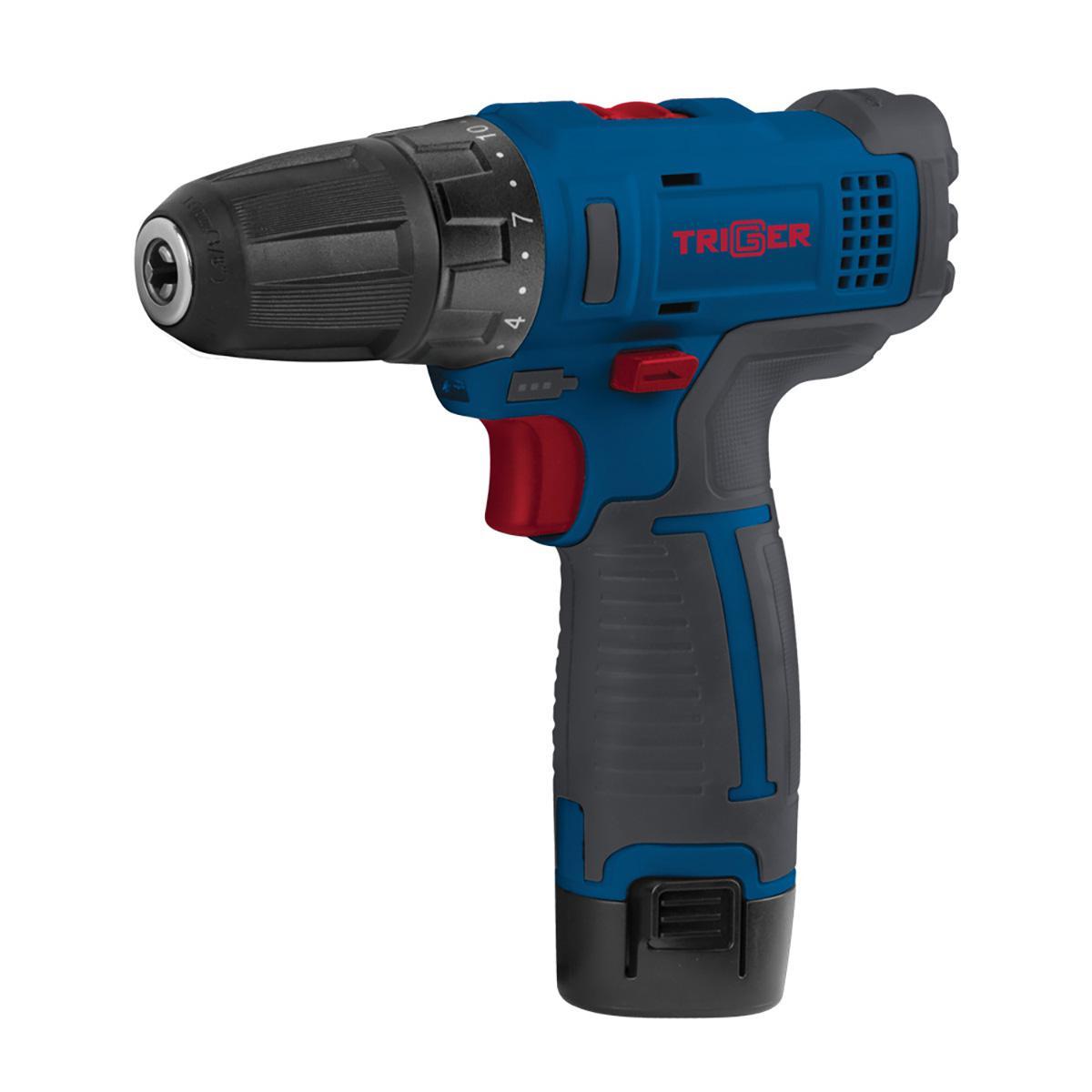 Дрель аккумуляторная Trigger 20101