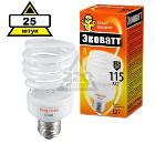 Набор ECOWATT Лампа энергосберегающая Mini SP 23W 827 E27 25шт