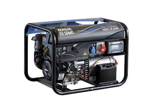 Бензиновый генератор SDMO TECHNIC 7500TE AVR M