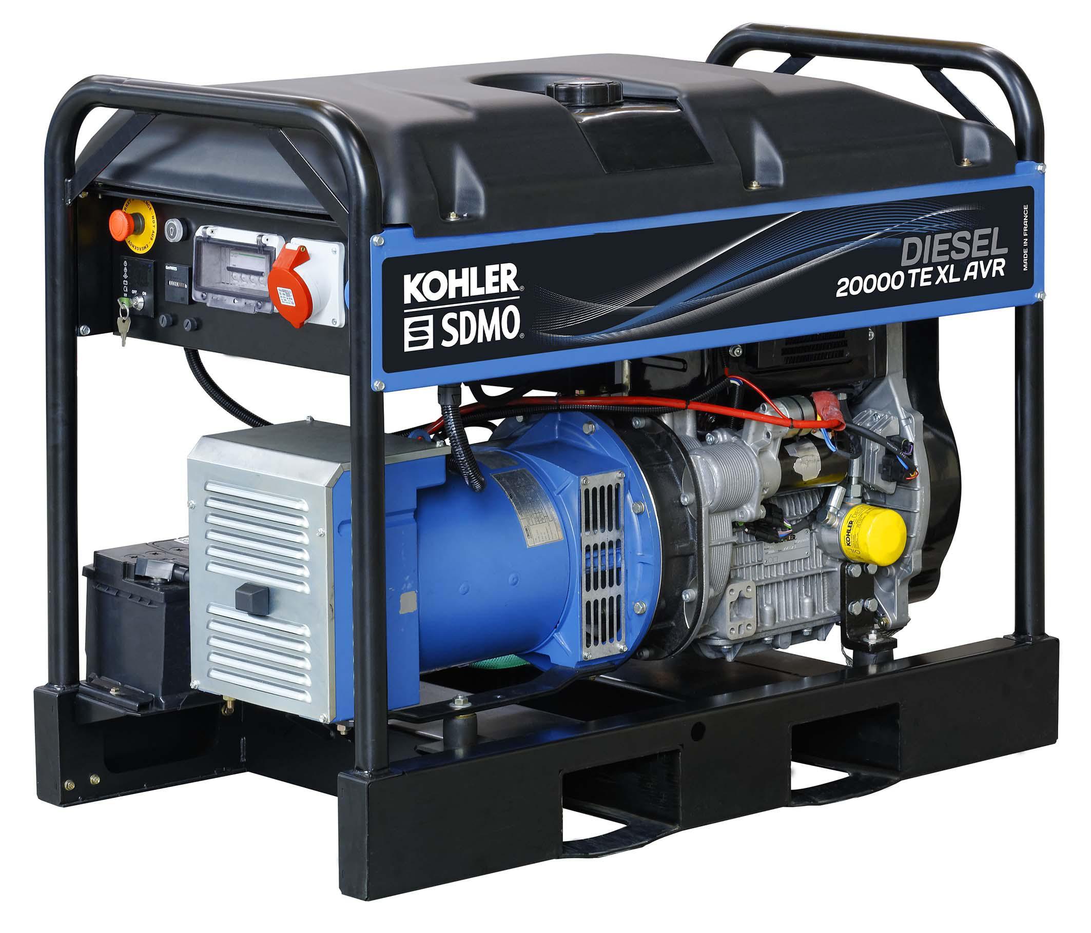 Дизельный генератор Sdmo Diesel 20000te xl avr c