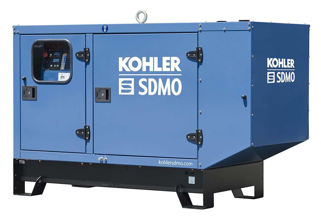 Дизельный генератор Sdmo J33 в кожухе