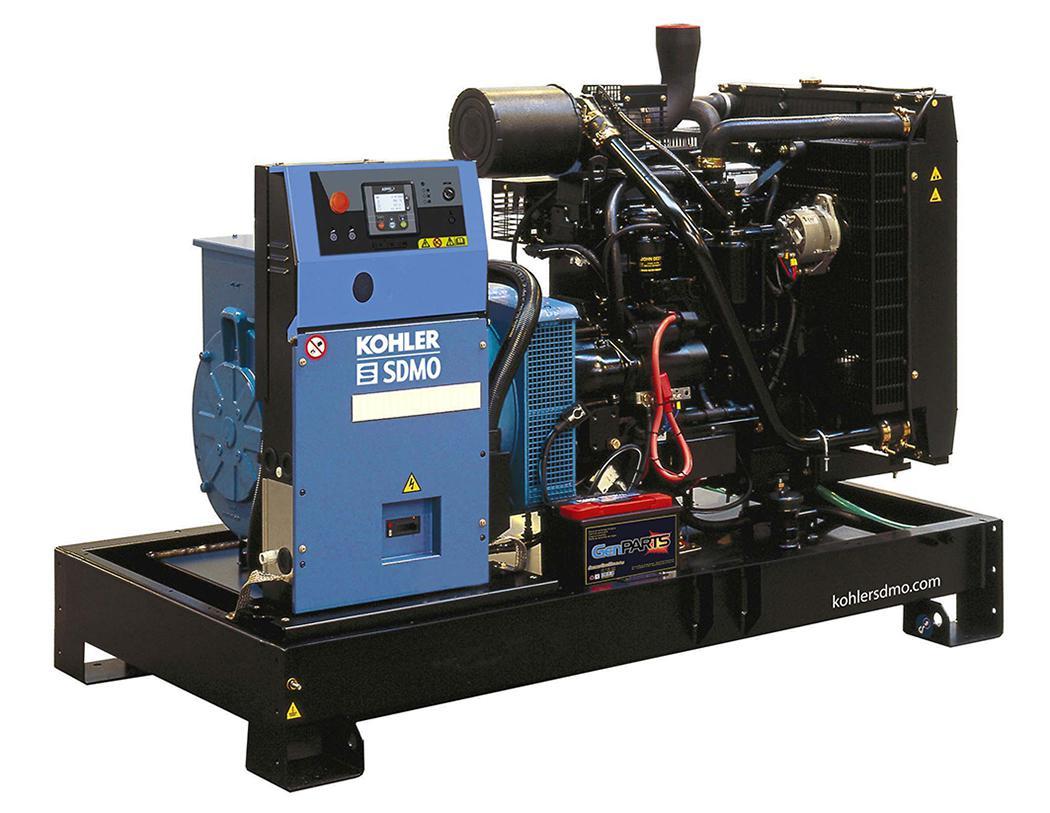 Дизельный генератор Sdmo J110k