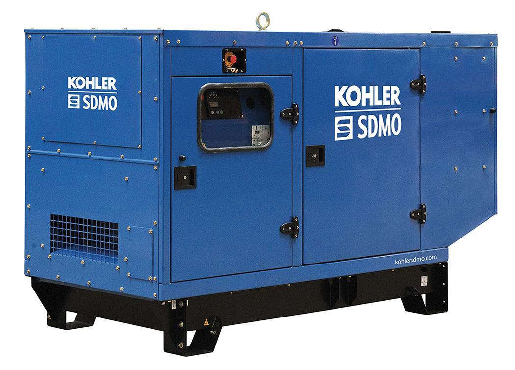 Дизельный генератор Sdmo J110k в кожухе