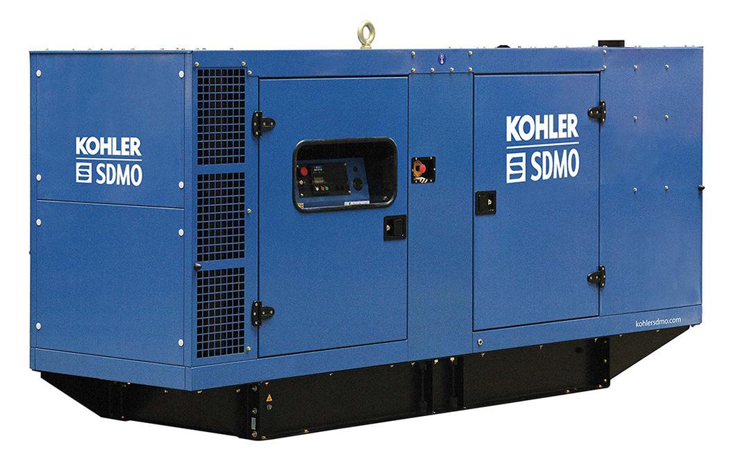 Дизельный генератор Sdmo J165k в кожухе
