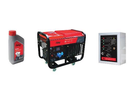 Дизельный генератор FUBAG DS 11000A ES + Масло моторное Extra 838265 + Автоматика Startmaster DS 25000