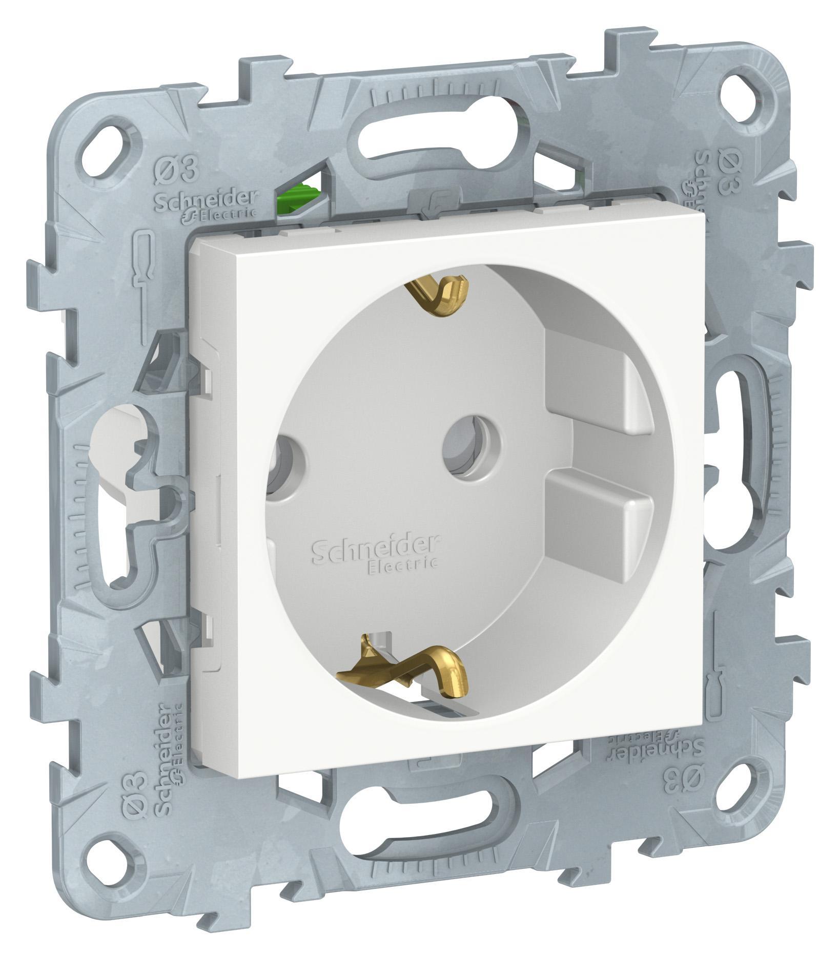 Купить Розетка Schneider electric Nu505718, белый