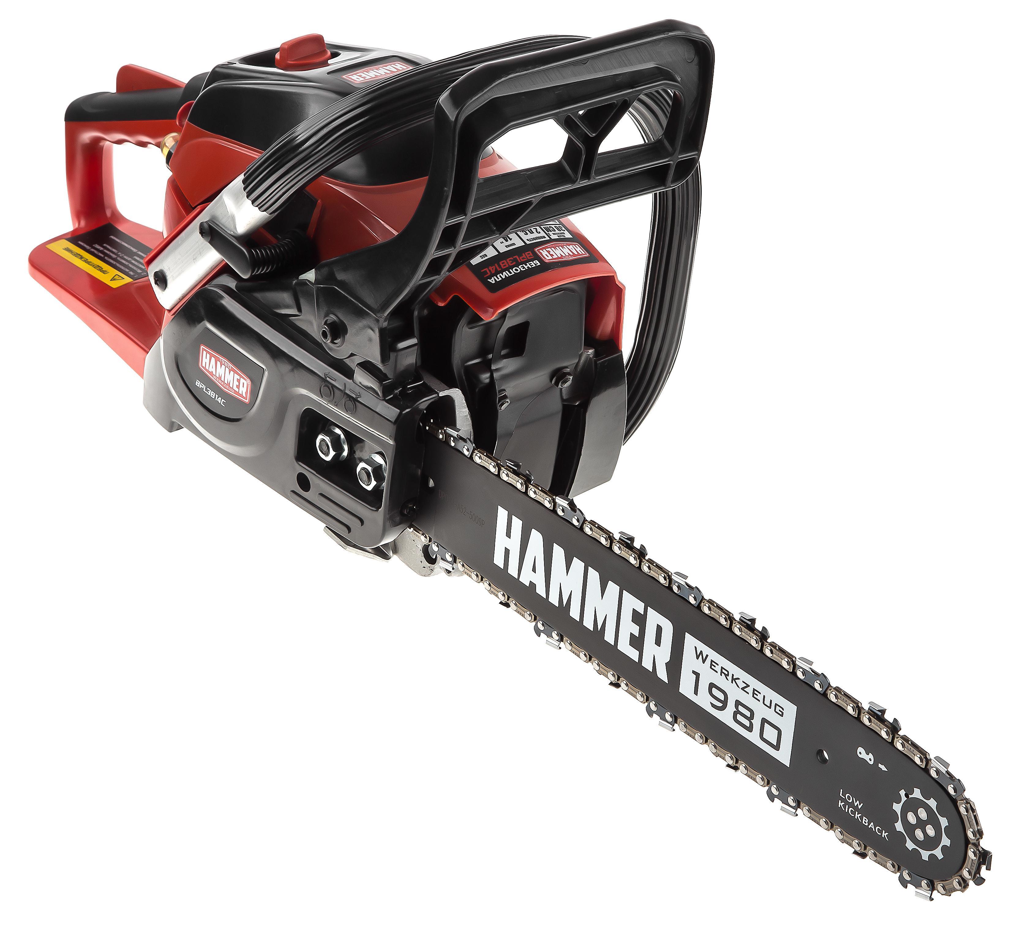 лучшая цена Бензопила Hammer Bpl3814c