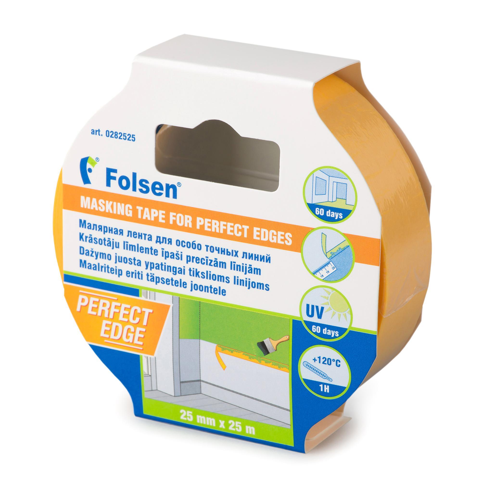 Лента малярная Folsen 282525
