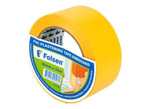 Лента малярная FOLSEN 50мм*33м (243350)