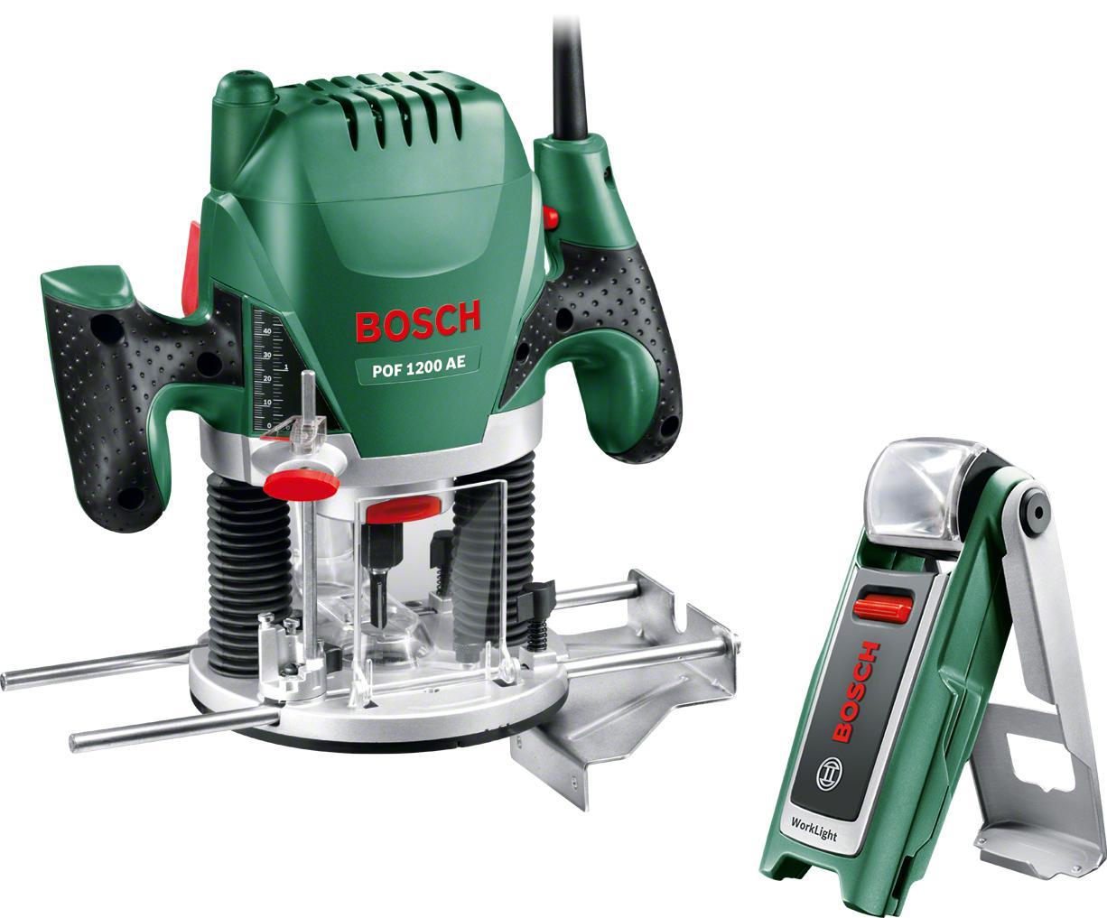 Купить Набор Bosch Фрезер pof 1200 ae (0.603.26a.100) +Фонарь 0603975801