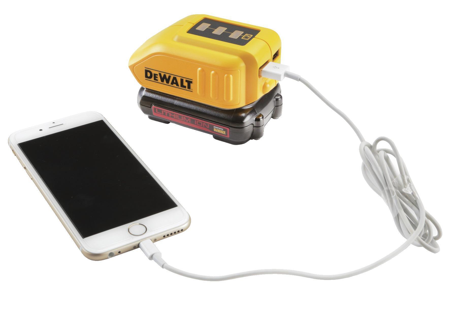 Набор Dewalt Дрель-шуруповерт dcd777s2t-qw +Зарядное устройство dcb090 usb