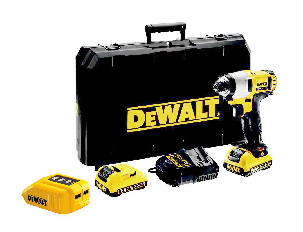 Набор Dewalt Гайковерт аккумуляторный dcf815d2 +Зарядное устройство dcb090 usb