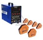 Набор AURORA PRO Сварочный аппарат INTER TIG 200 PULSE Mosfet +Угольник магнитный MCS +Угольник магнитный WMCT50 +Угольник магнитный WMCT75