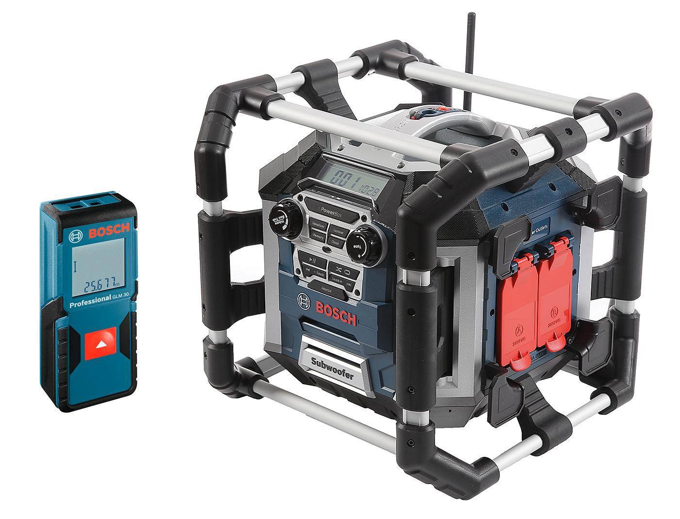 Набор Bosch Радио gml 50 power box (0.601.429.600) +Дальномер glm 30 (0.601.072.500)