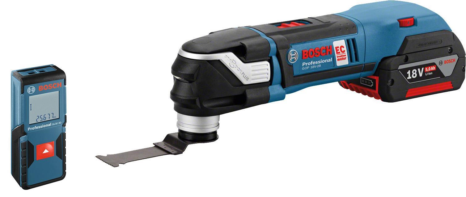 Набор Bosch Реноватор gop 18v-28 (0.601.8b6.003) +Дальномер glm 30 (0.601.072.500)