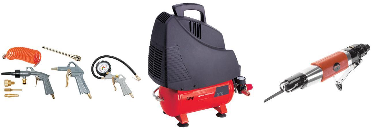 Набор Fubag Компрессор service master kit +Ножовка as-10 компрессор fubag service master kit 6
