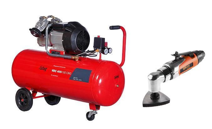 Набор Fubag Компрессор vdС 400/100 cm3 +Инструмент многофункциональный mft-10