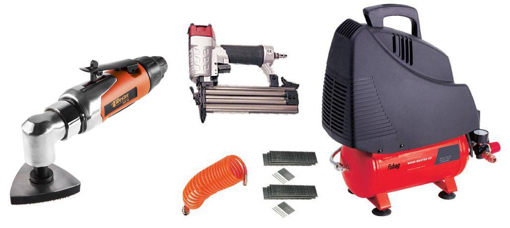 Набор Fubag Компрессор wood master kit +Инструмент многофункциональный mft-10