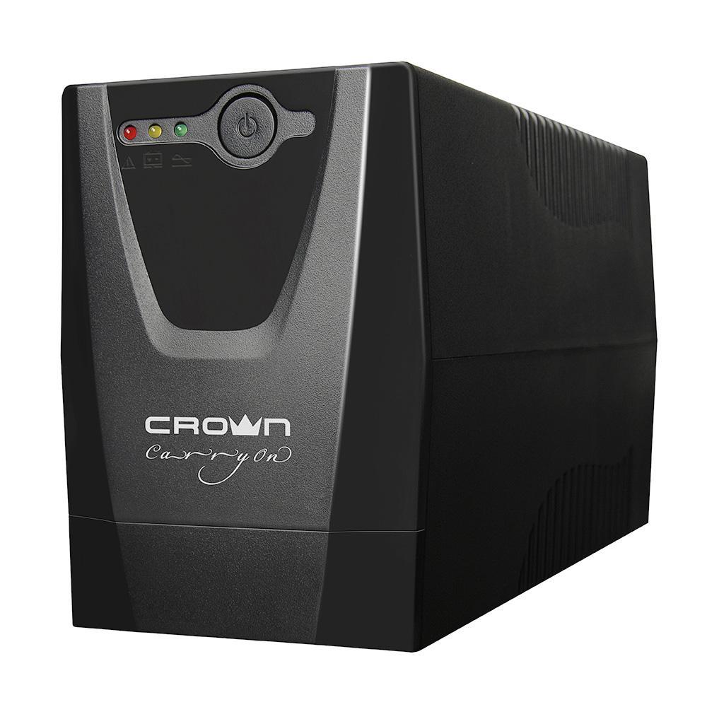 Источник бесперебойного питания Crown Line intractive cmu-650euro lcd usb 650va\390w цены