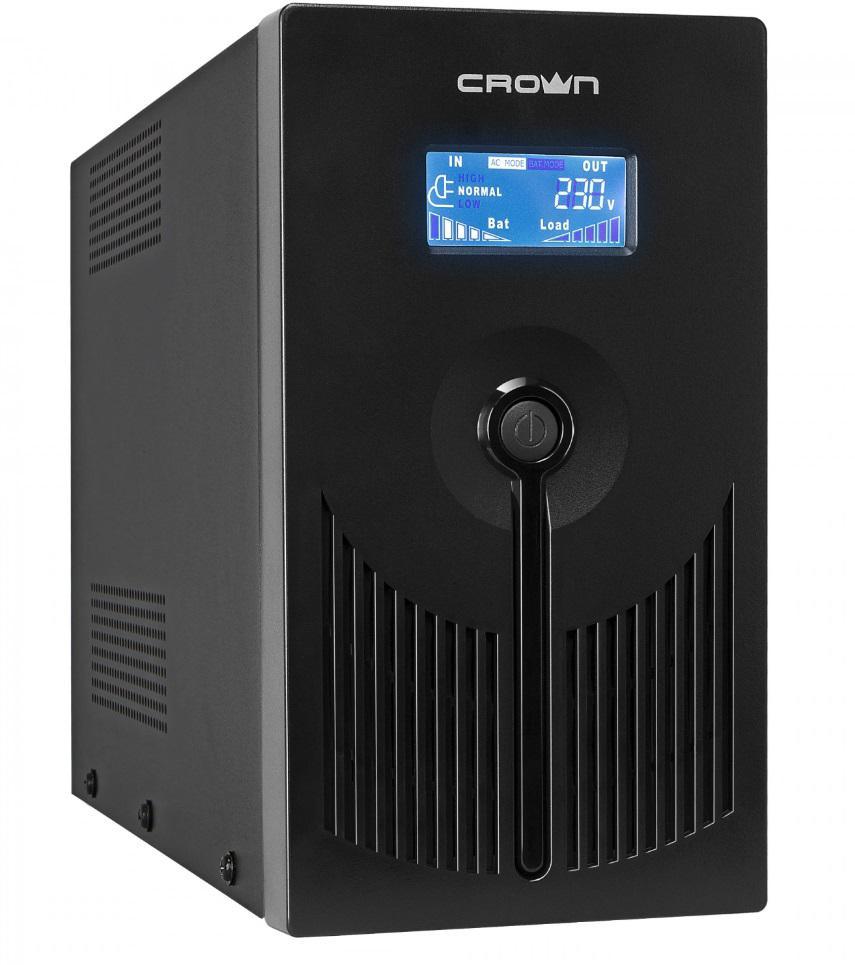 Источник бесперебойного питания Crown Line intractive cmu-sp800euro lcd 800va\450w цена