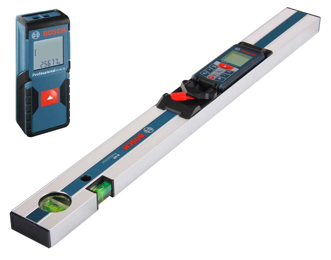 Набор Bosch Дальномер glm 80 + РЕЙКА r60 (0.601.072.301) +Дальномер glm 30 (0.601.072.500)