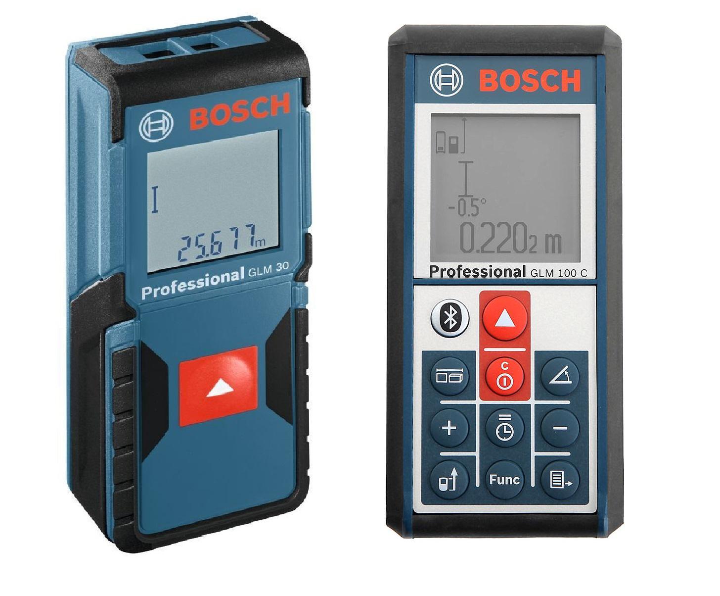 Набор Bosch Дальномер glm 100 c professional (0.601.072.700) +Дальномер glm 30 (0.601.072.500)