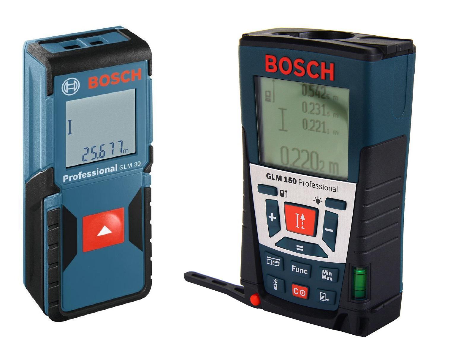 Набор Bosch Дальномер glm 150 (0.601.072.000) +Дальномер glm 30 (0.601.072.500)