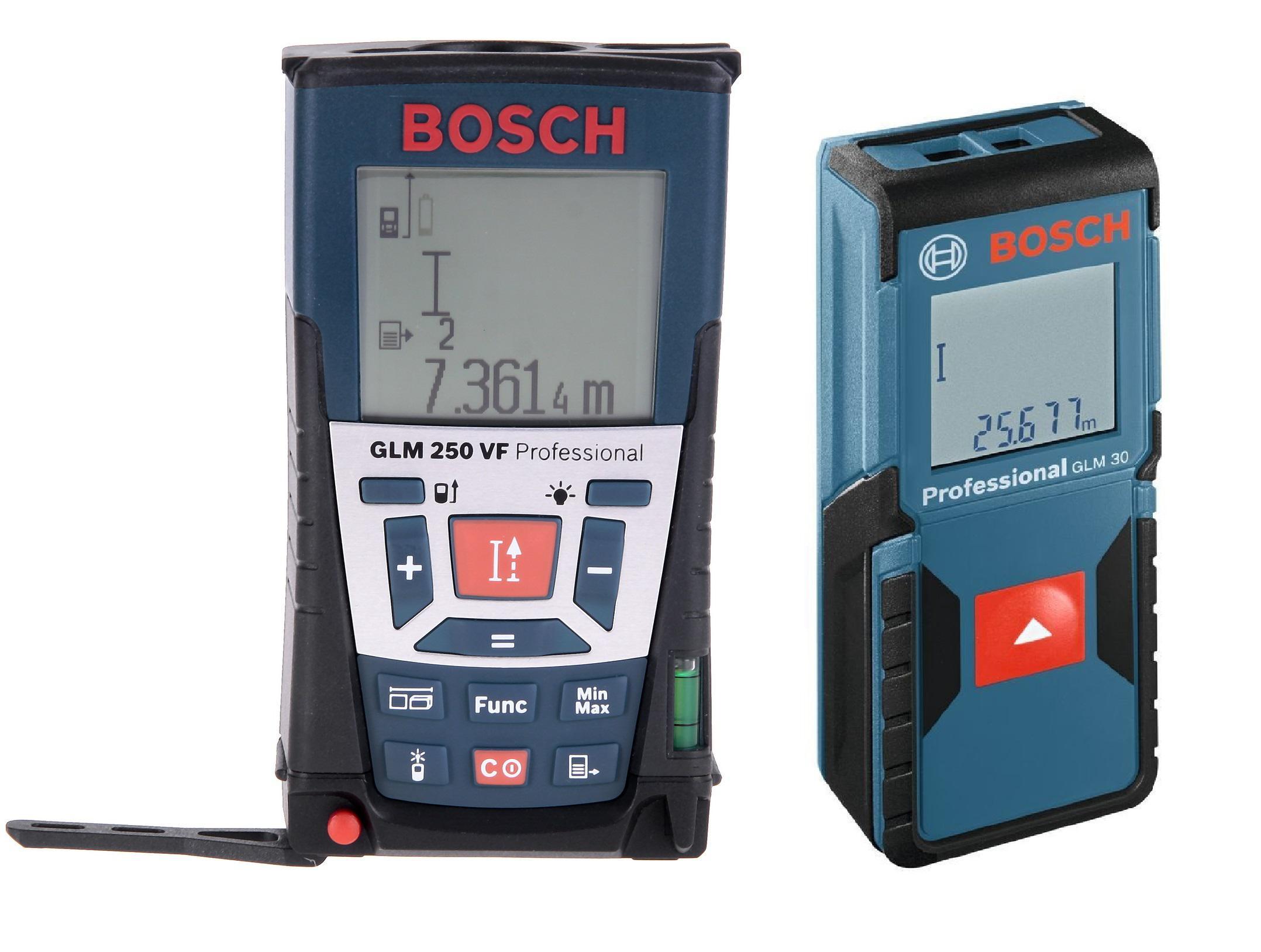 Набор Bosch Дальномер glm 250 vf (0.601.072.100) +Дальномер glm 30 (0.601.072.500)
