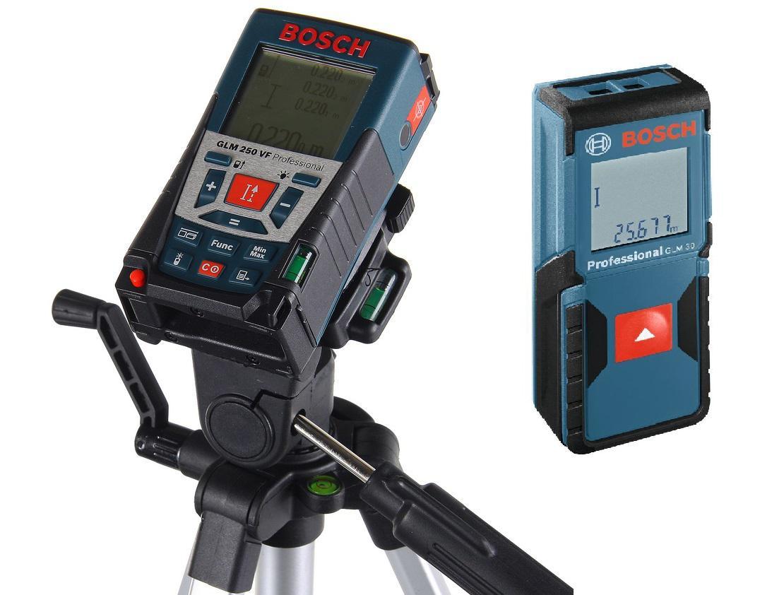 Набор Bosch Дальномер glm 250 vf + ШТАТИВ (0.615.994.02j) +Дальномер glm 30 (0.601.072.500)