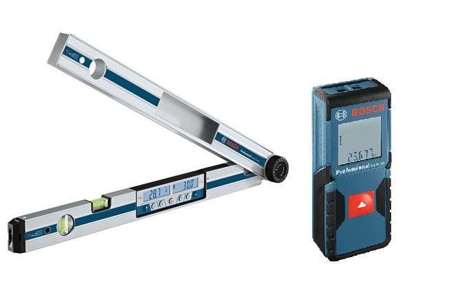 Набор Bosch Угломер gam 270 mfl (0.601.076.400) +Дальномер glm 30 (0.601.072.500)