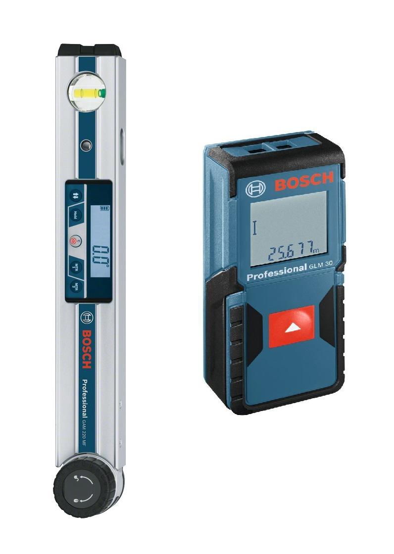 Набор Bosch Угломер gam 220 mf professional (0.601.076.600) +Дальномер glm 30 (0.601.072.500)
