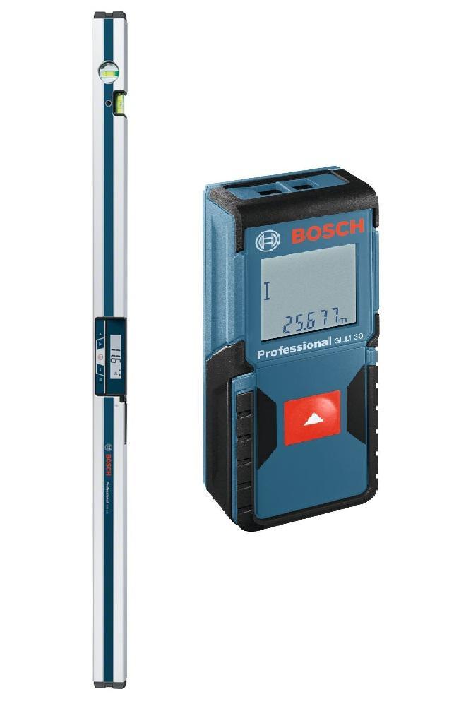 Набор Bosch Уклономер gim 120 prof (0.601.076.800) +Дальномер glm 30 (0.601.072.500)