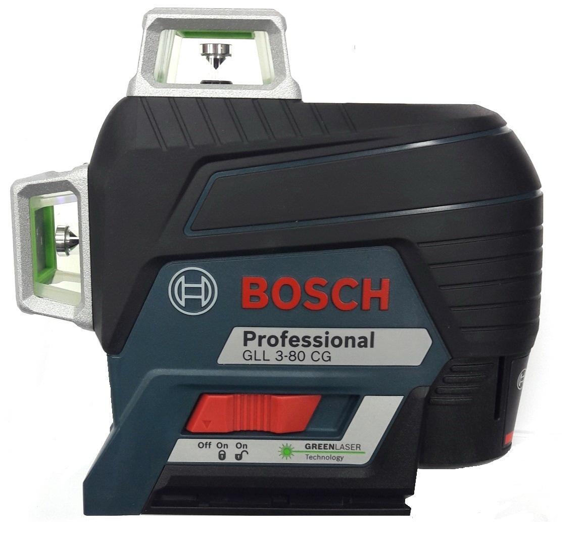Набор Bosch Уровень gll 3-80cg+bm1+12v+l-boxx (0.601.063.t00) +Дальномер glm 30 (0.601.072.500)
