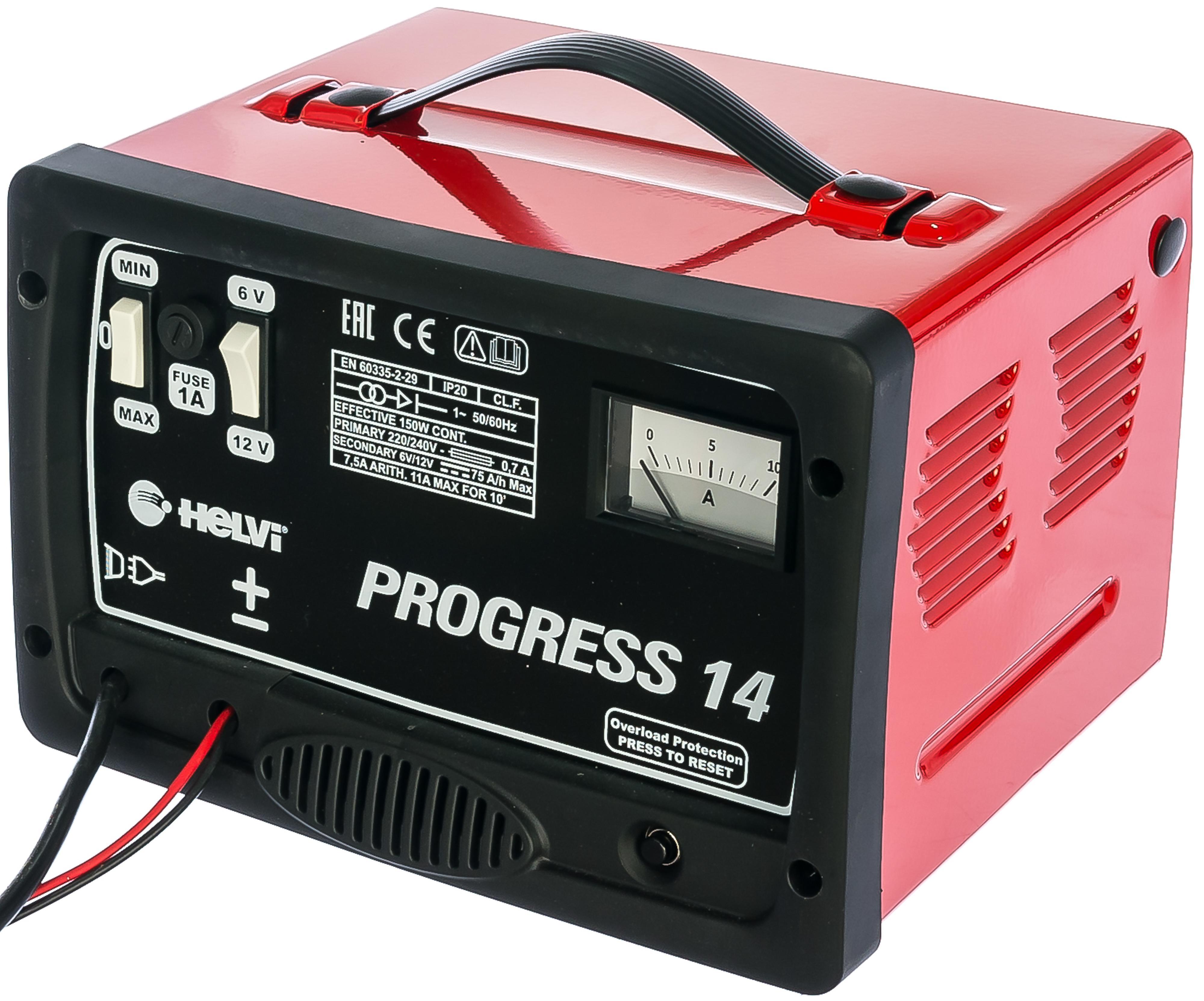 Зарядное устройство Helvi Progress 14 зарядное устройство helvi progress 17