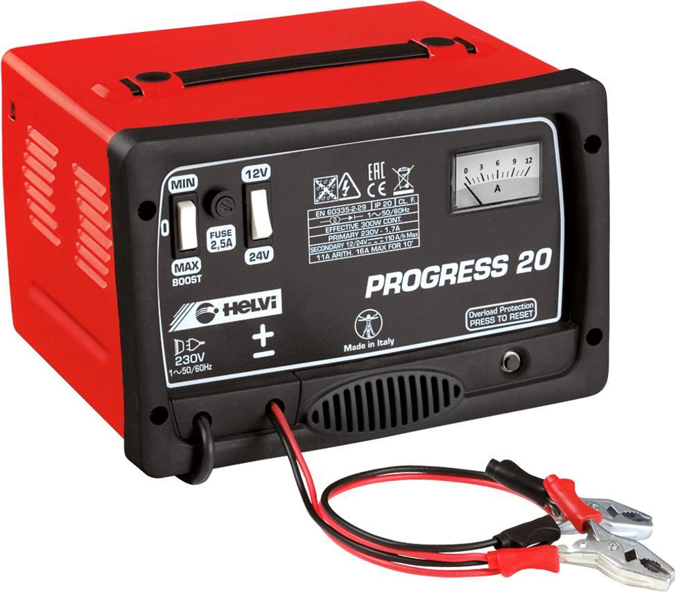Зарядное устройство Helvi Progress 20 зарядное устройство helvi progress 17