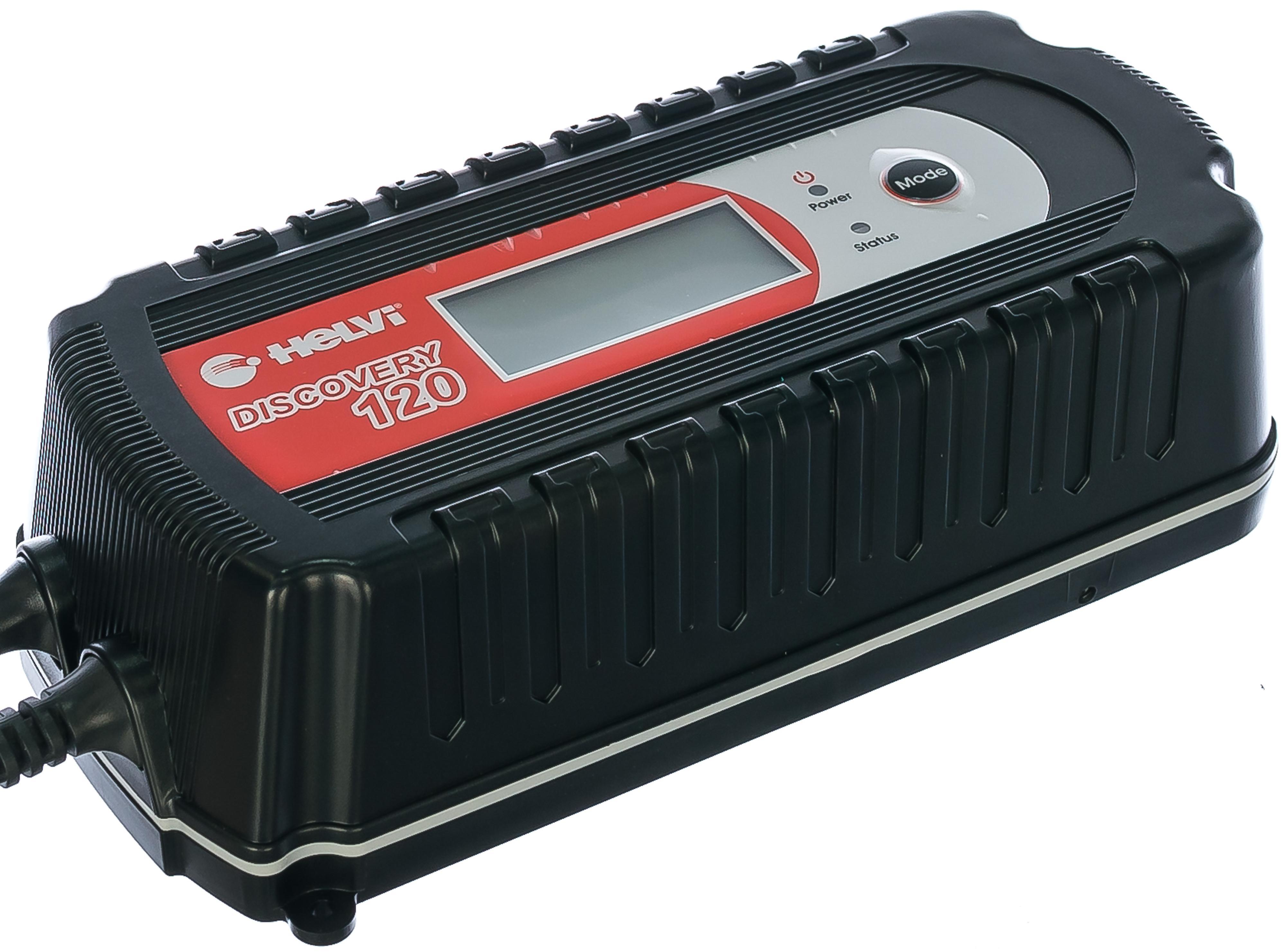 Зарядное устройство Helvi Discovery 120 для автомобиля класса лада аккумулятора какой нужен