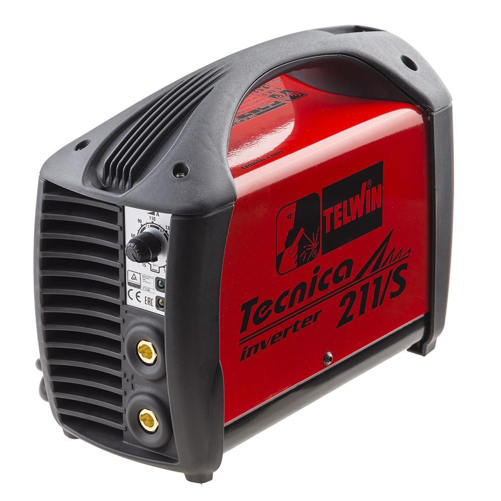 Купить Сварочный аппарат Telwin Tecnica 211/s 230v acx plastic c.case