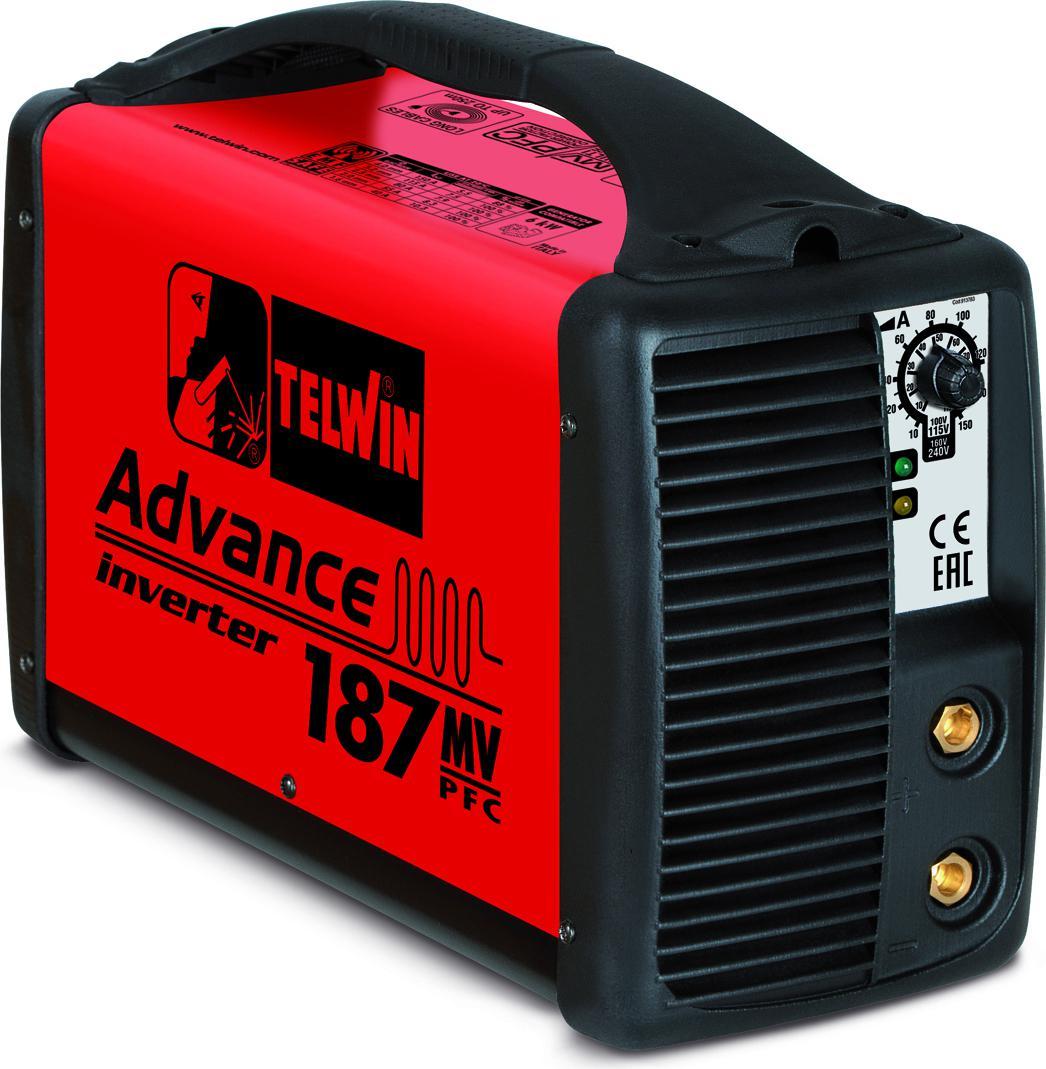 Купить Сварочный аппарат Telwin Advance 187 mv/pfc