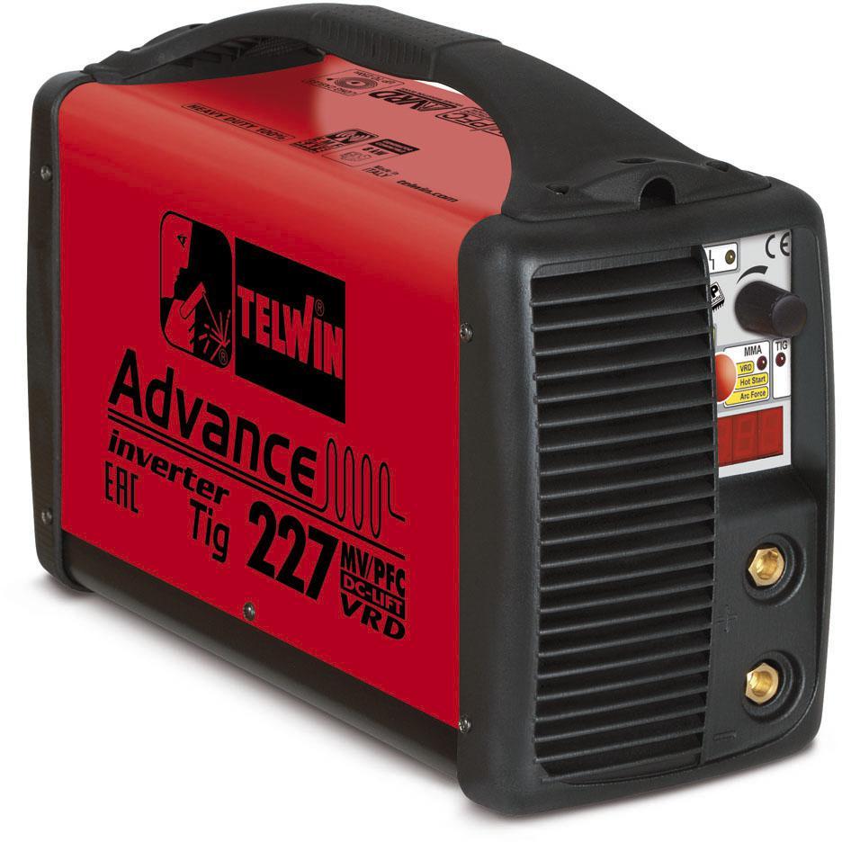 Купить Сварочный аппарат Telwin Advance 227 mv/pfc tig dc-lift vrd