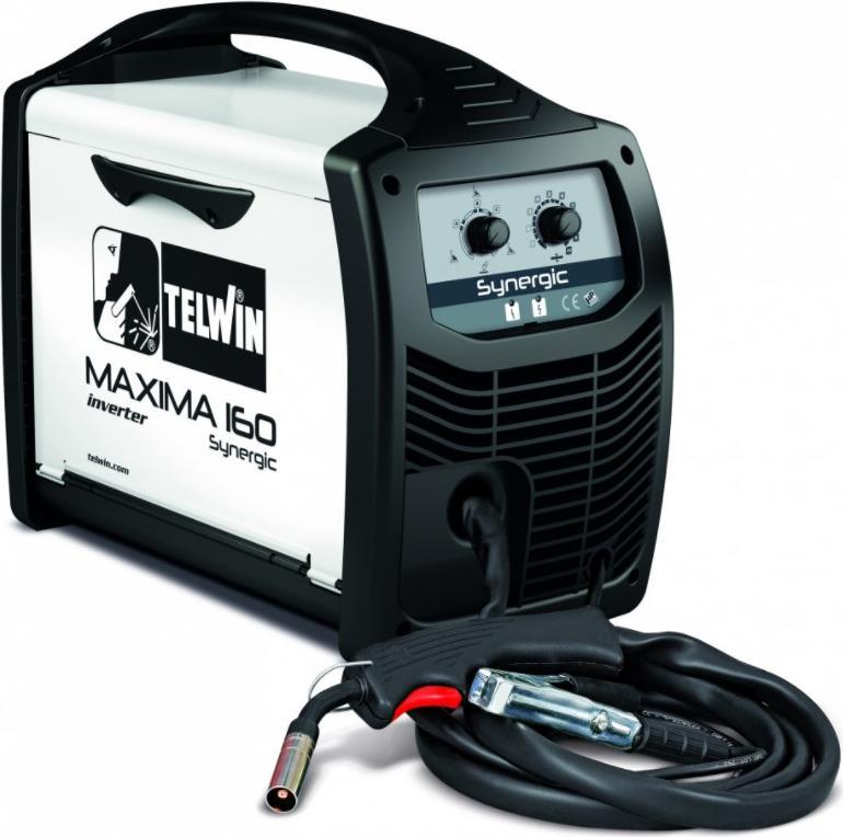 Купить Сварочный аппарат Telwin Maxima 160 synergic 230v