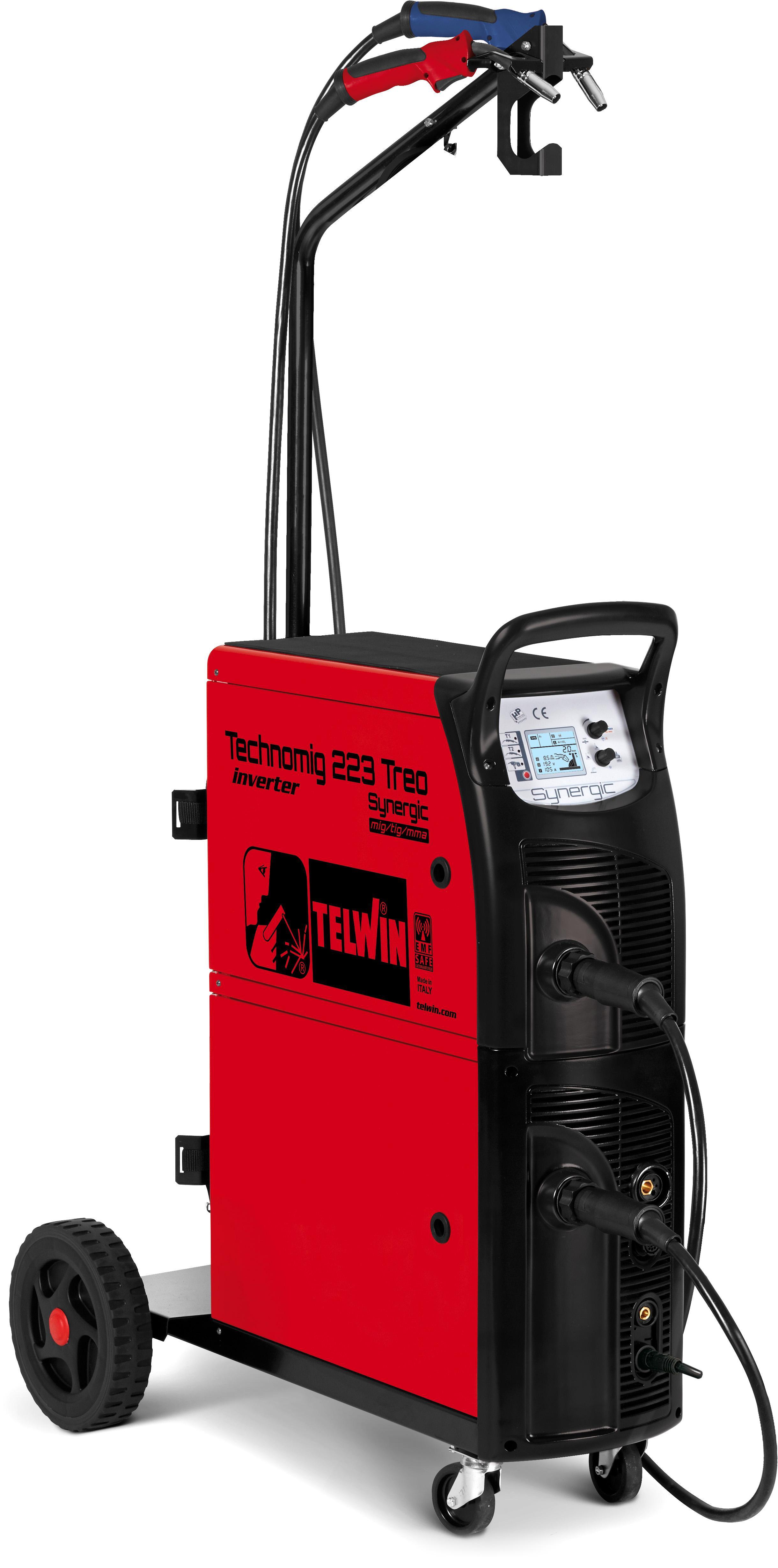 Сварочный аппарат Telwin Technomig 223 treo synergic  - Купить