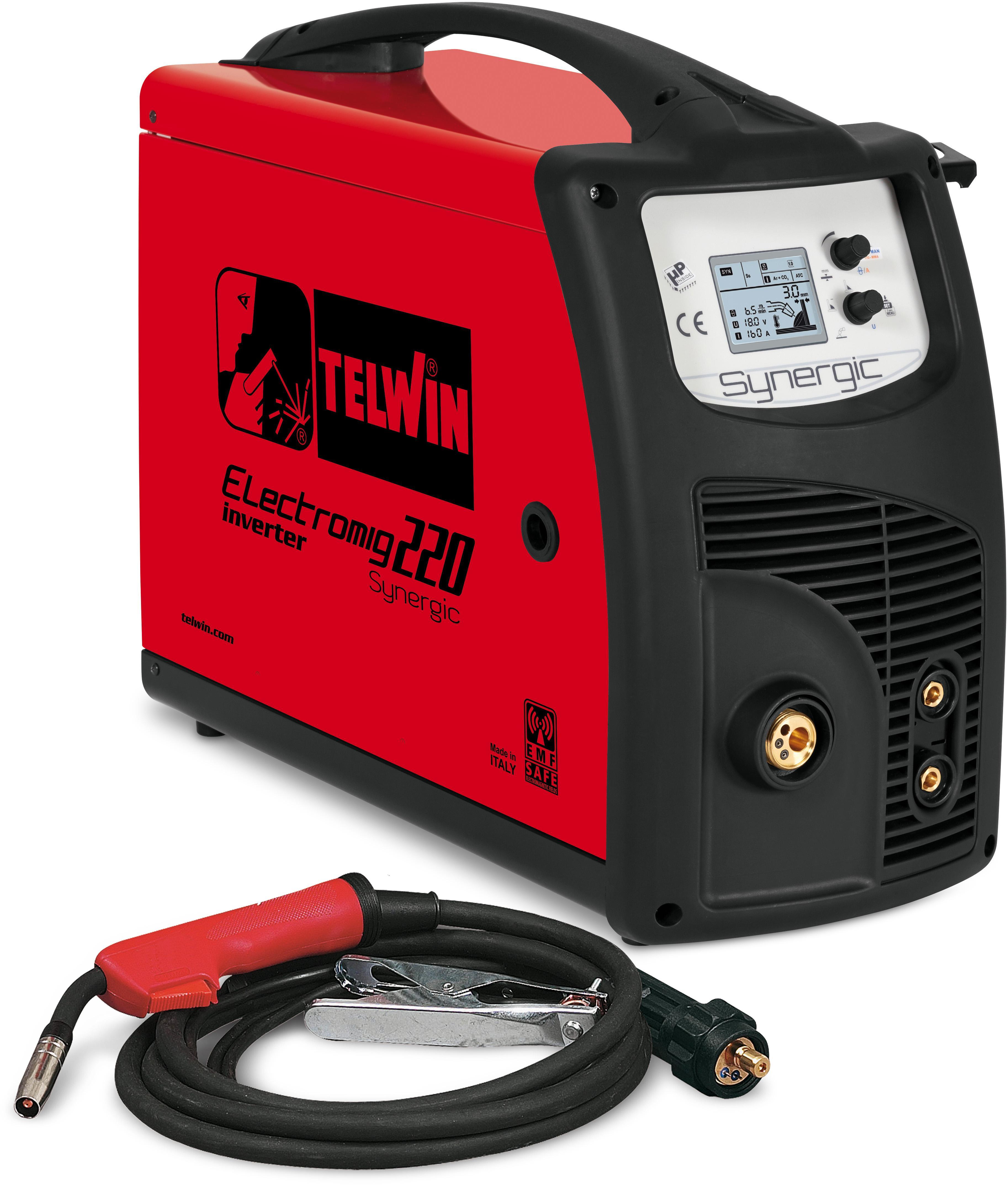 Купить Сварочный аппарат Telwin Electromig 220 synergic 400v