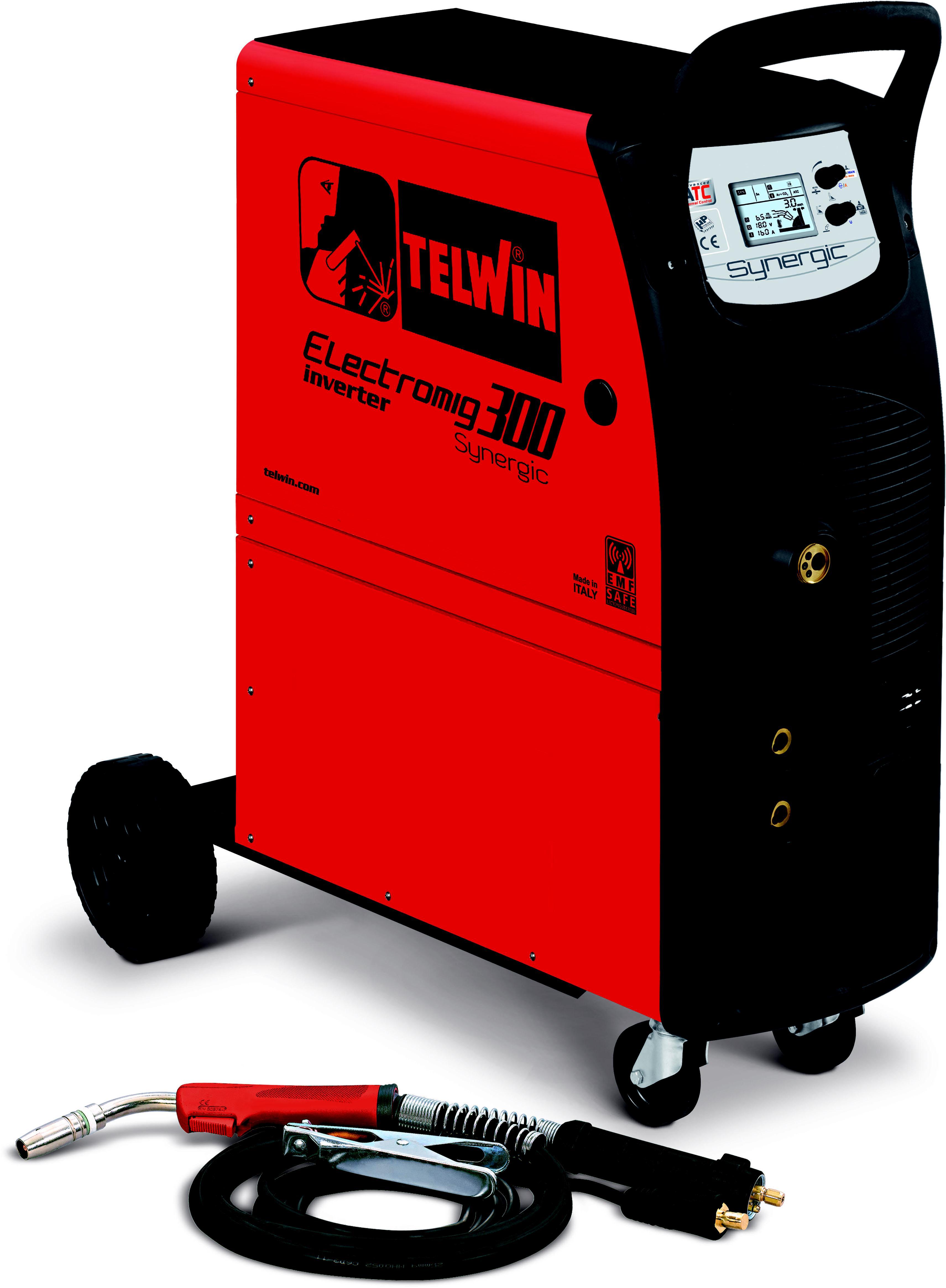 Купить Сварочный аппарат Telwin Electromig 300 synergic 400v